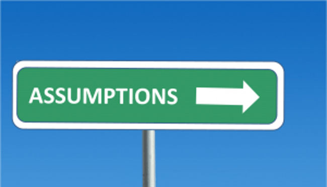 Assumptions Excel Financial Modelling